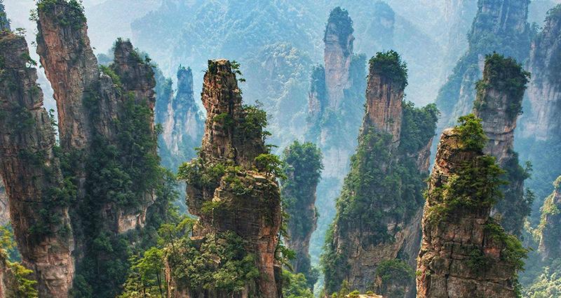 Menjelajah ZhangJiaJie, Pegunungan Avatar di Negeri China